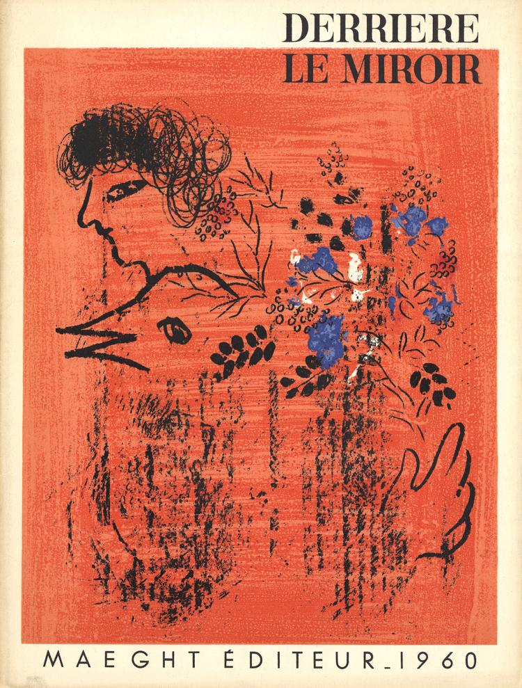 Marc Chagall - DLM No. 121-122 Cover - 1960