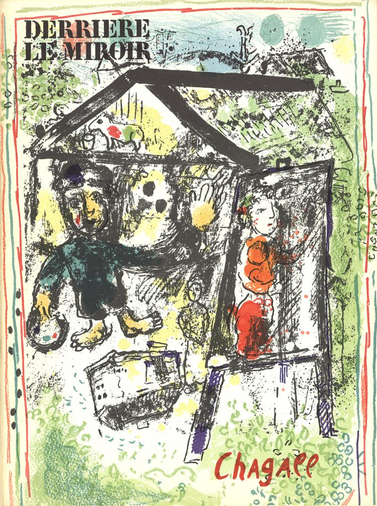 Marc Chagall - DLM No. 182 Cover - 1969