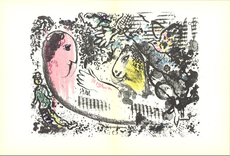 Marc Chagall - DLM No. 182 pages 4,5 - 1969