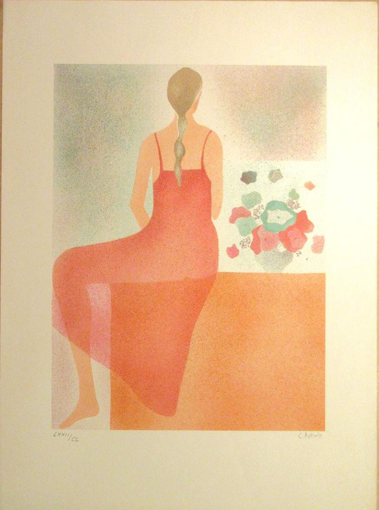 Claire Astaix - Fille Sit - SIGNED