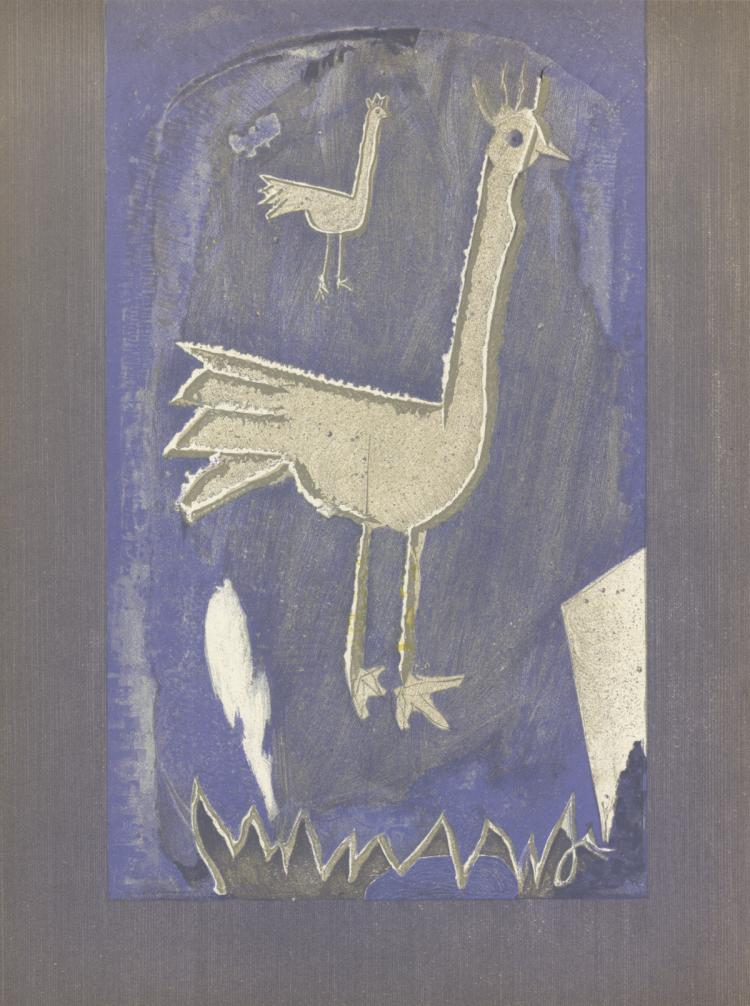Georges Braque - Frontispice - 1953