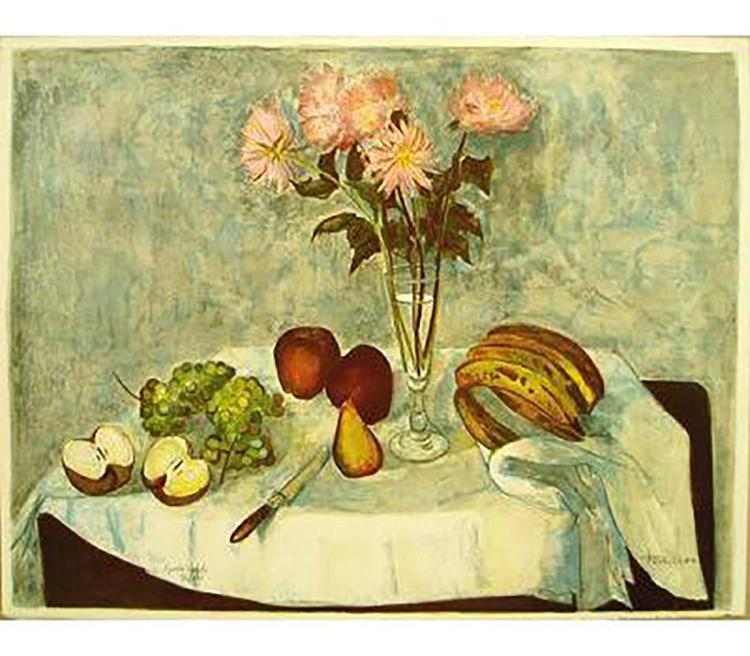 Roger Forissier - Fruit De La Table - SIGNED