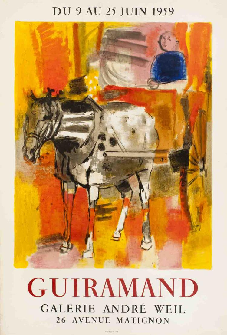 Paul Guiramand - Galerie Andre Weil - 1959