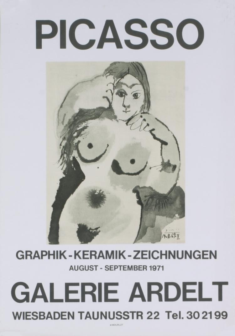 Pablo Picasso - Galerie Ardelt - 1971