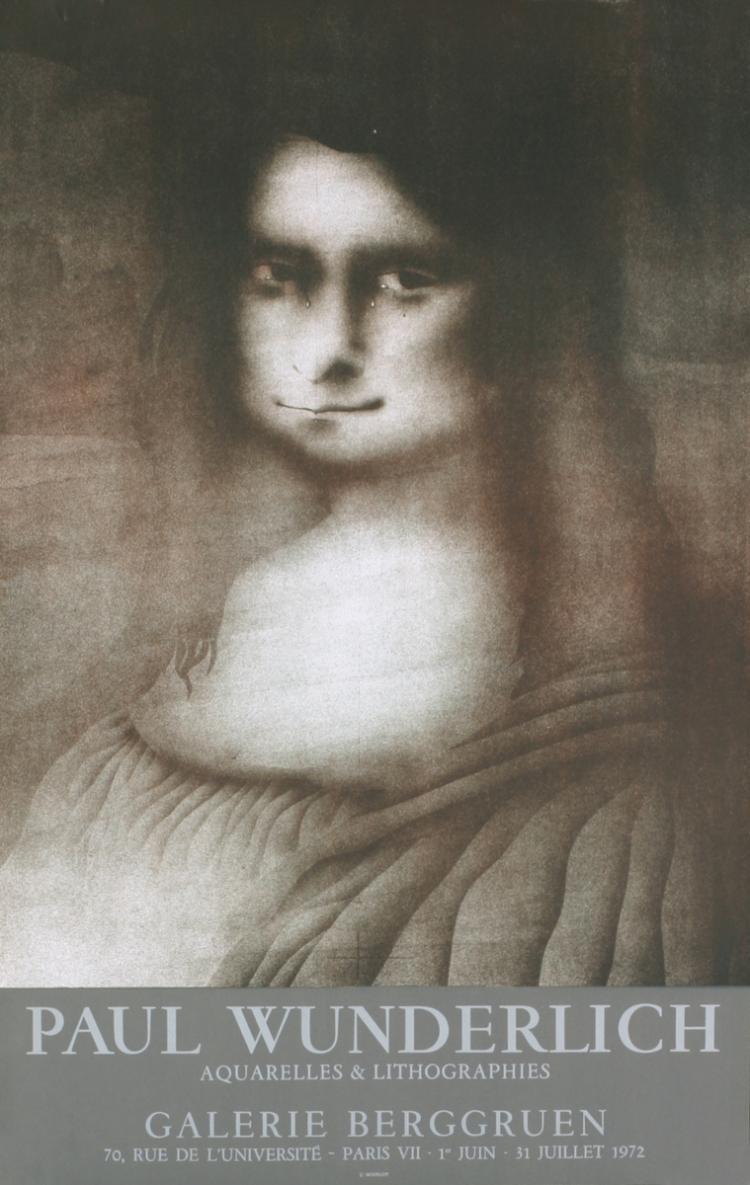 Paul Wunderlich - Galerie Berggruen, Tears - 1972