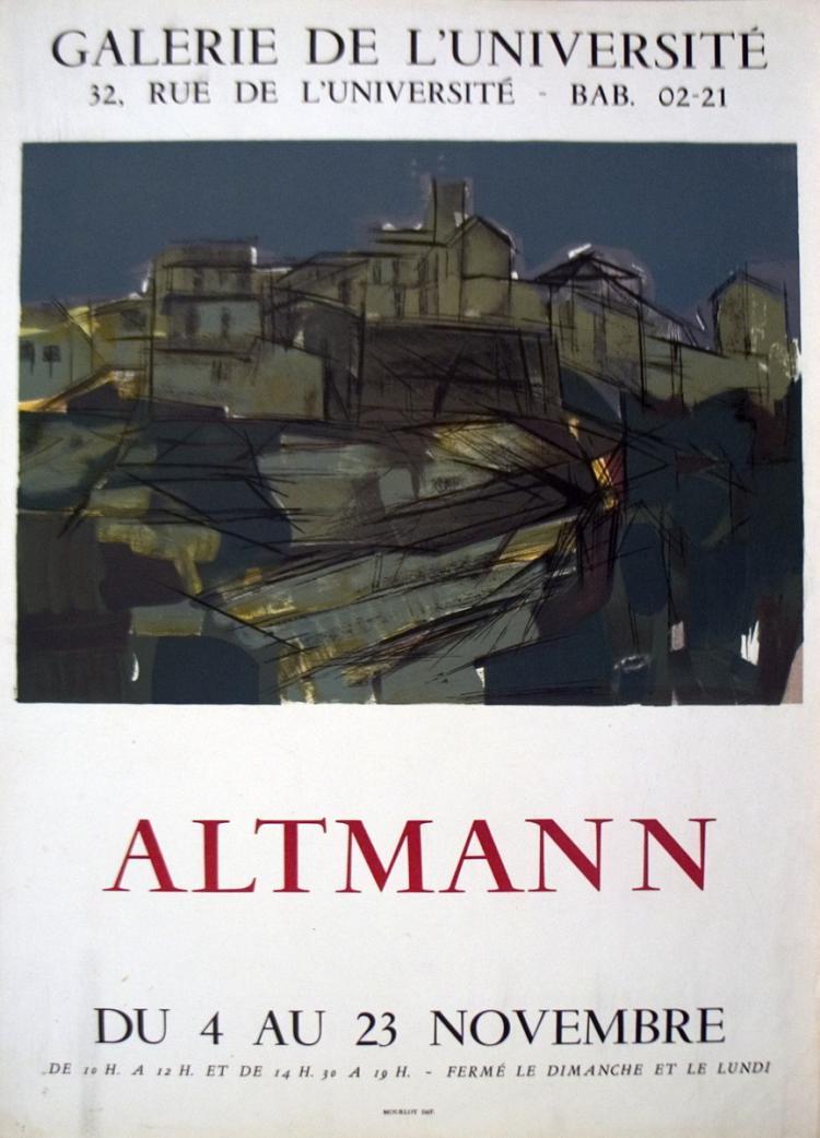 Alexandre Altmann - Galerie De L'Universite