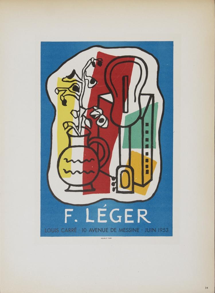 Fernand Leger - Galerie Louis Carre - 1959