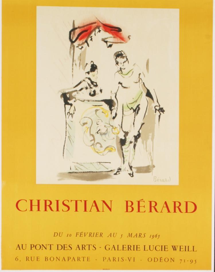 Christian Berard - Galerie Lucie Weill - 1965