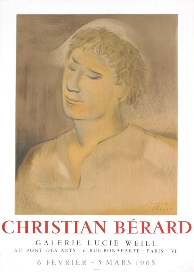 Christian Berard - Galerie Lucie Weill - 1968