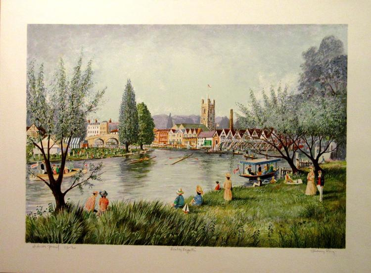 Jeremy King - Henley Regatta - SIGNED