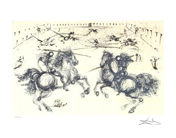 Salvador Dali - Horseman