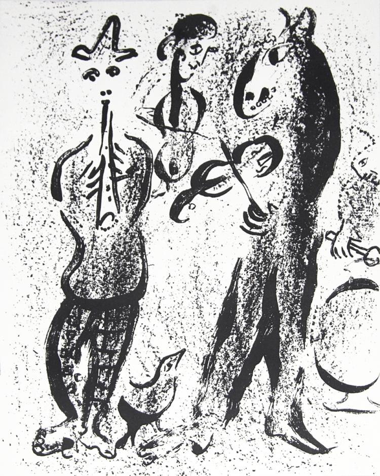 Marc Chagall - Itinerant Players