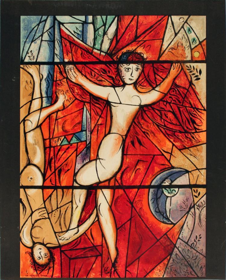 Marc Chagall - Jacob's Dream - 1964