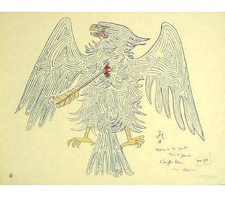 Jean Cocteau - L'aigle Blesse - 1956