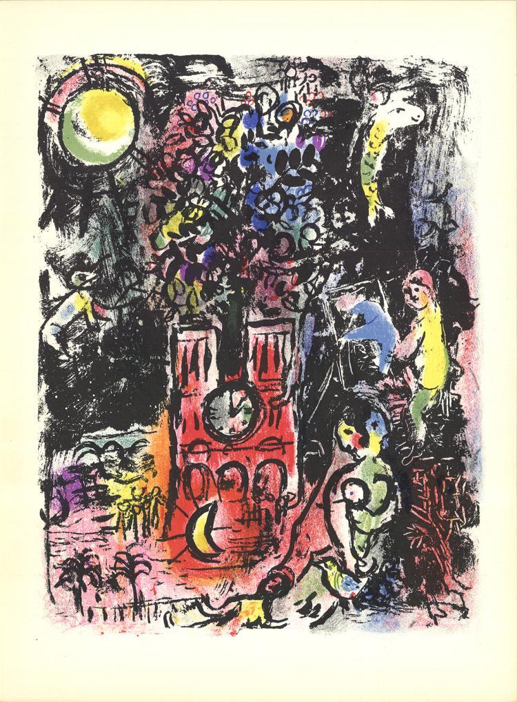 Marc Chagall - L'Arbre de Jesse - 1960