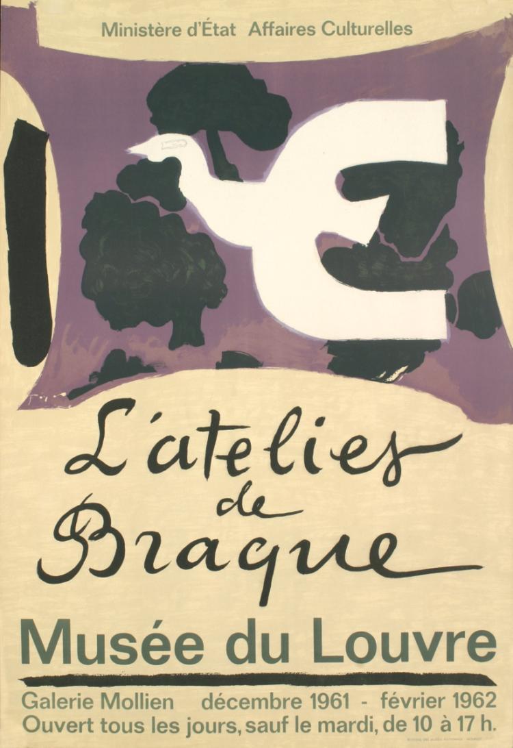 Georges Braque - L'Atelies de Braque - 1962