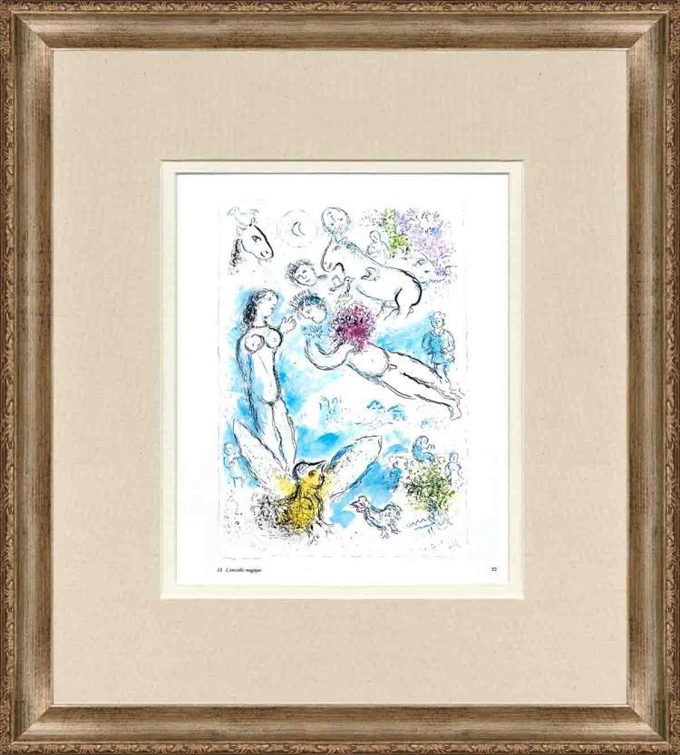 Marc Chagall - L'envolee Magique - 1981