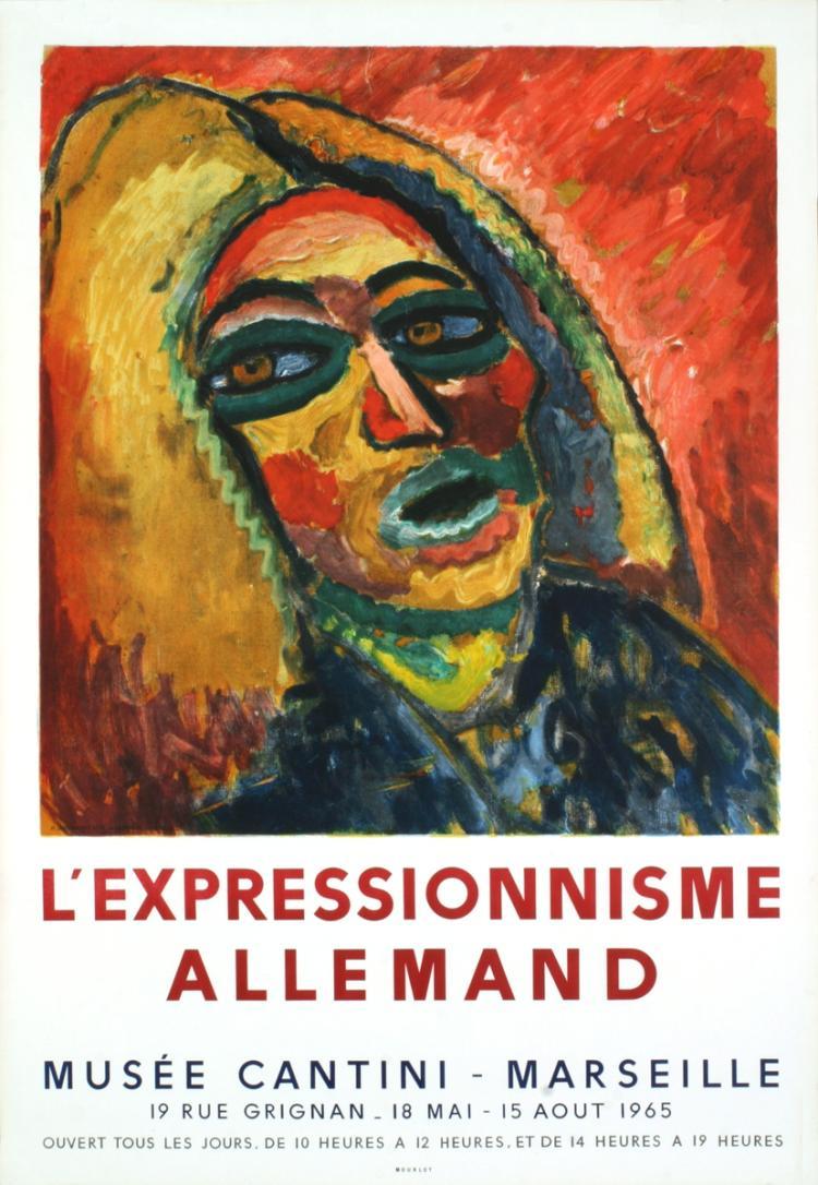 Ernst-Ludwig Kirchner - L'Expressionnisme Allemand - 1965