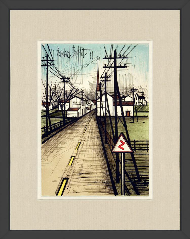 Bernard Buffet - La Route vers le village