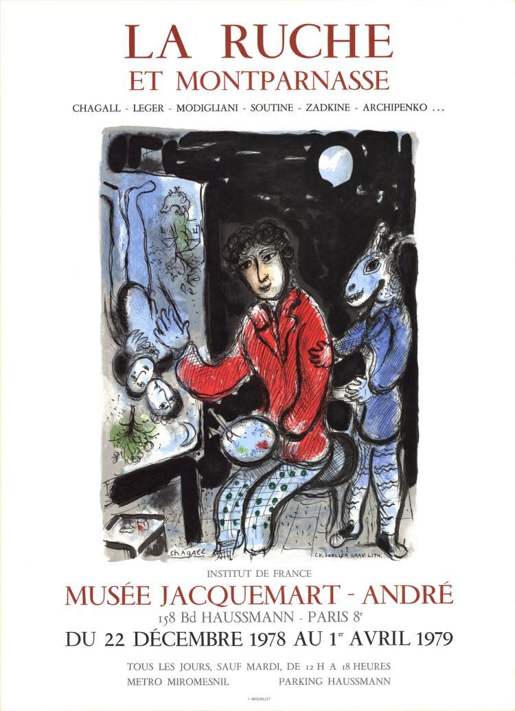 Marc Chagall - La Ruche - 1979