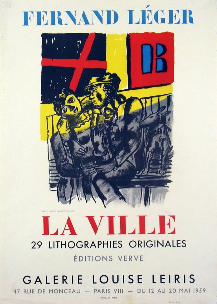 Fernand Leger - La Ville - 1959