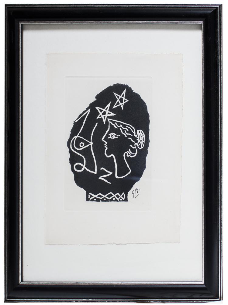 Georges Braque - Le Buste