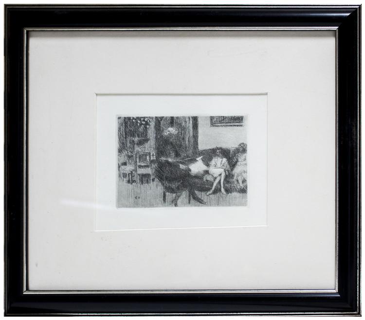 Edouard Vuillard - Le Divan
