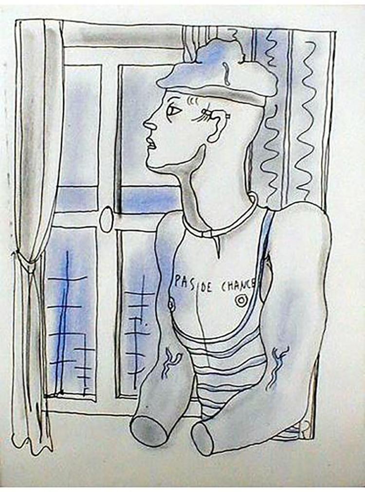 Jean Cocteau - Le Livre Blanc 13 - 1930
