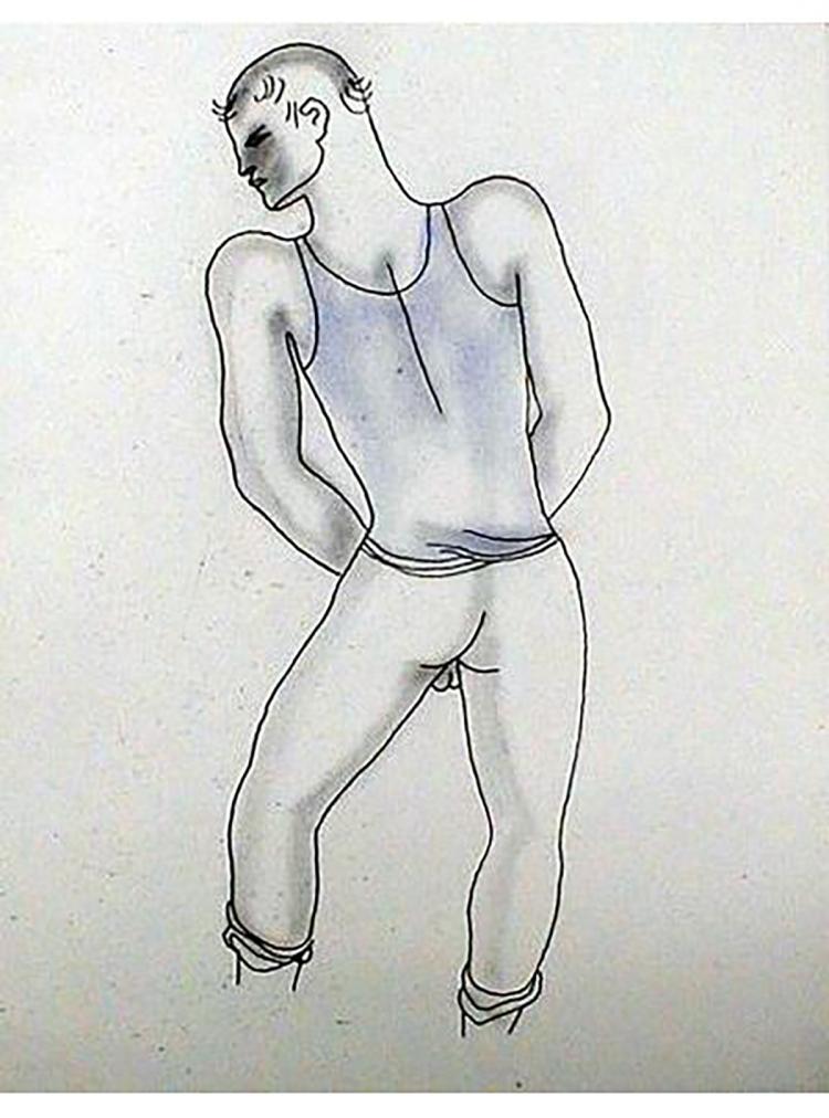 Jean Cocteau - Le Livre Blanc 14 - 1930