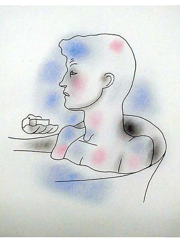 Jean Cocteau - Le Livre Blanc 4 - 1930