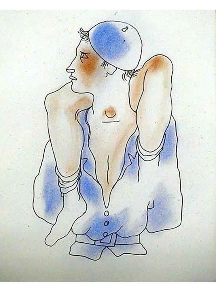 Jean Cocteau - Le Livre Blanc 5 - 1930
