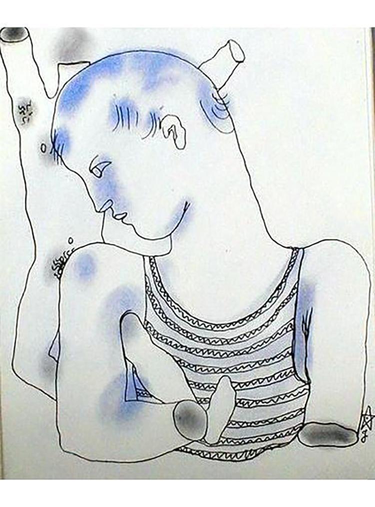 Jean Cocteau - Le Livre Blanc 7 - 1930