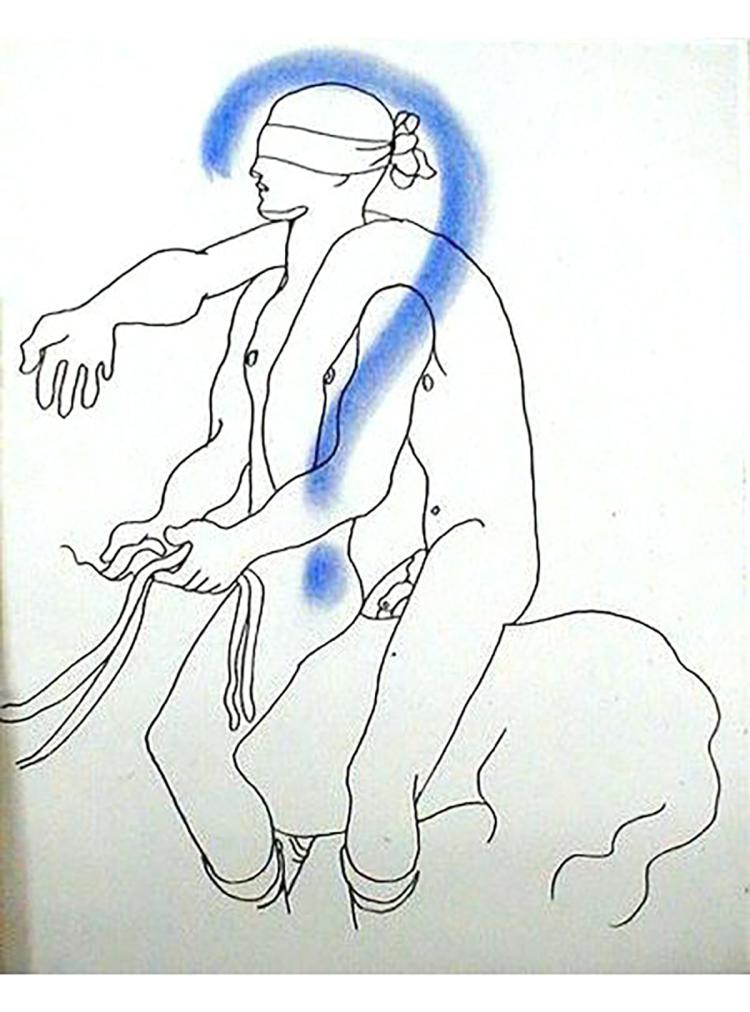 Jean Cocteau - Le Livre Blanc 8 - 1930