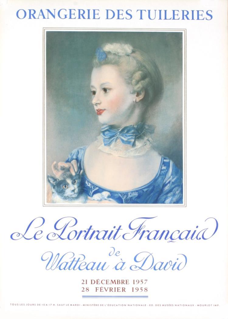 Henri Fantin-Latour - Le Portrait Francais - 1957