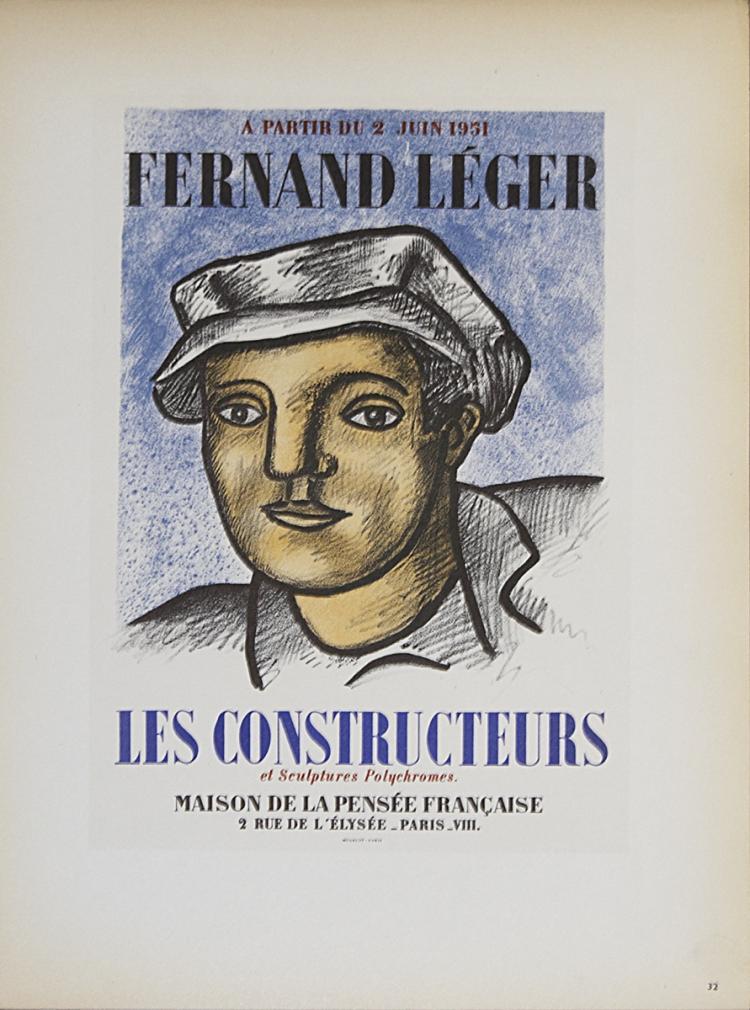 Fernand Leger - Les Constructeurs - 1959