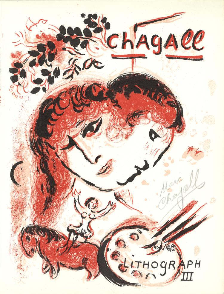Marc Chagall - Lithographe III