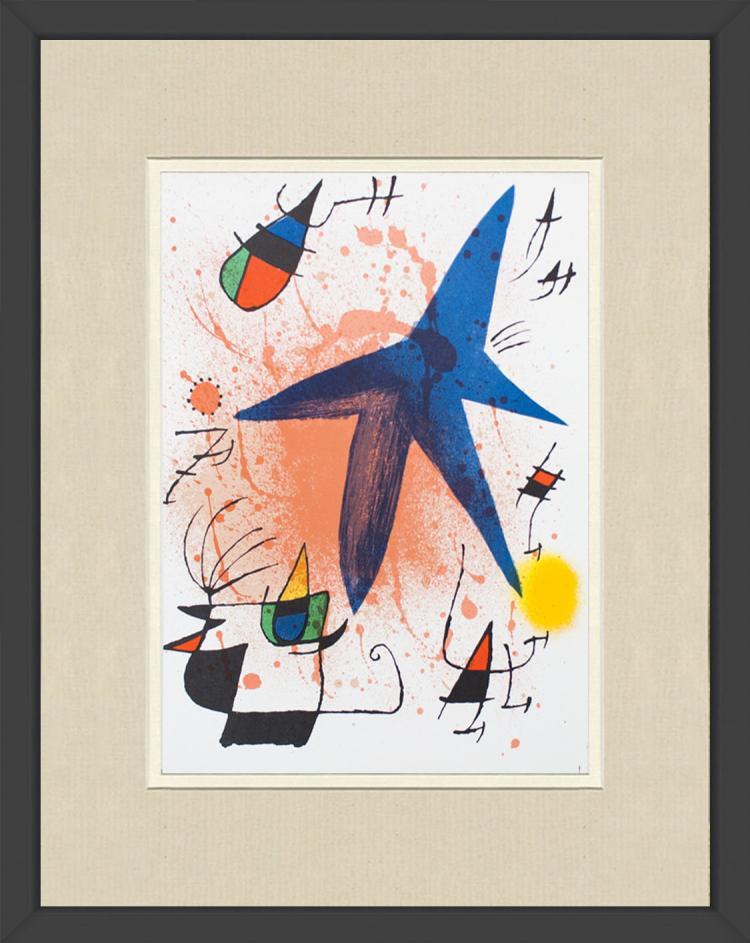 Joan Miro - Litografia original I