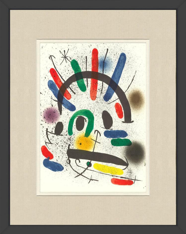 Joan Miro - Litografia original II