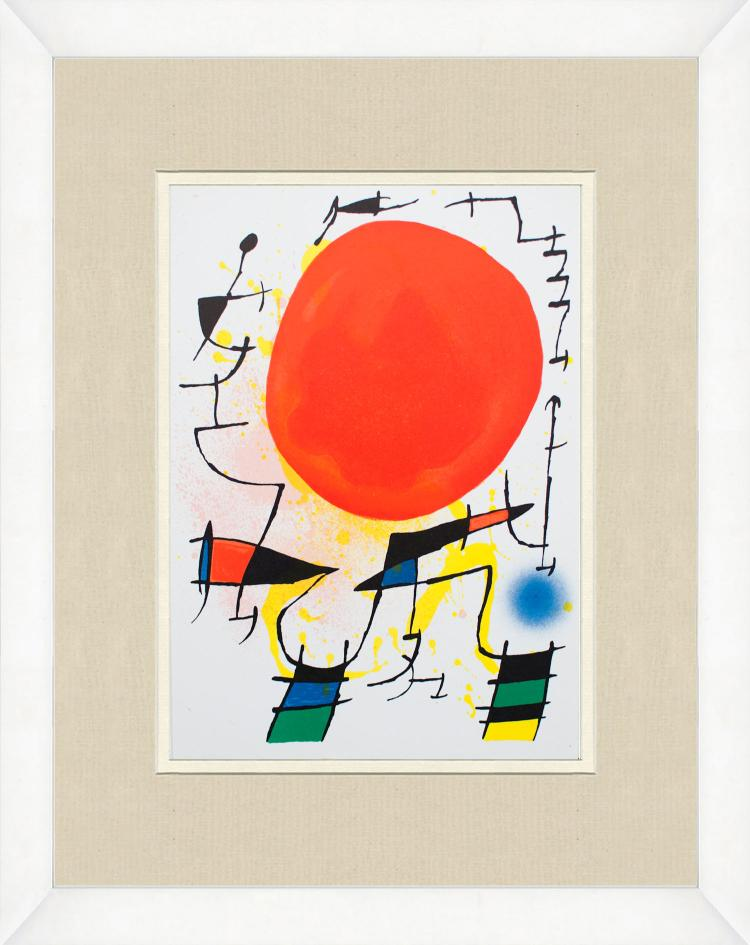 Joan Miro - Litografia original III