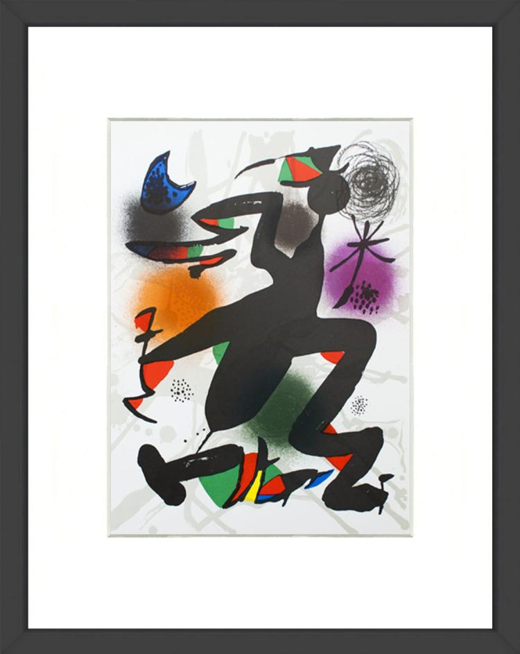 Joan Miro - Litografia original IV - 1975