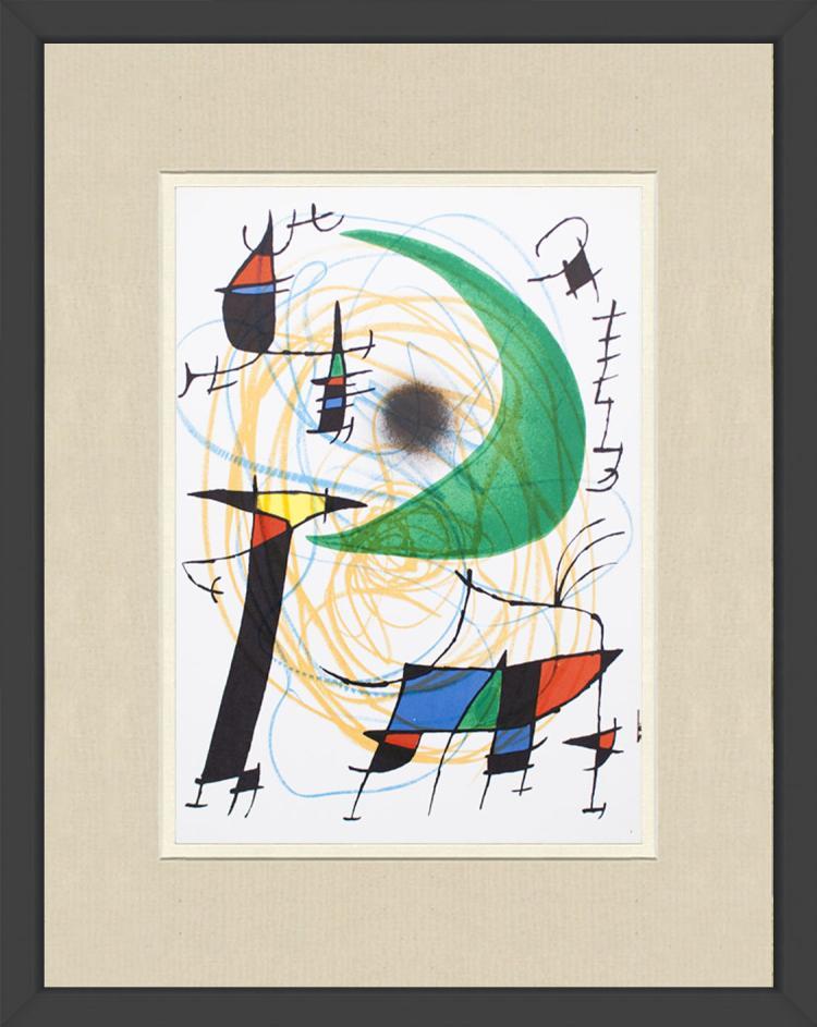 Joan Miro - Litografia original V