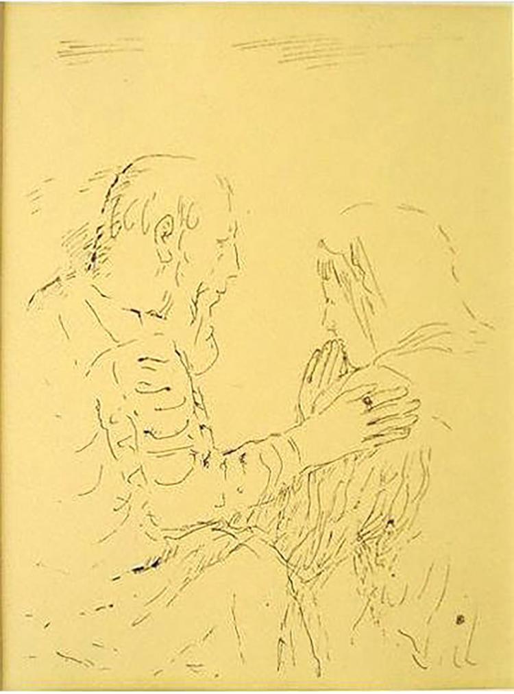 Pierre Bonnard - Monique Chez L'eveque Numantianus - 1930