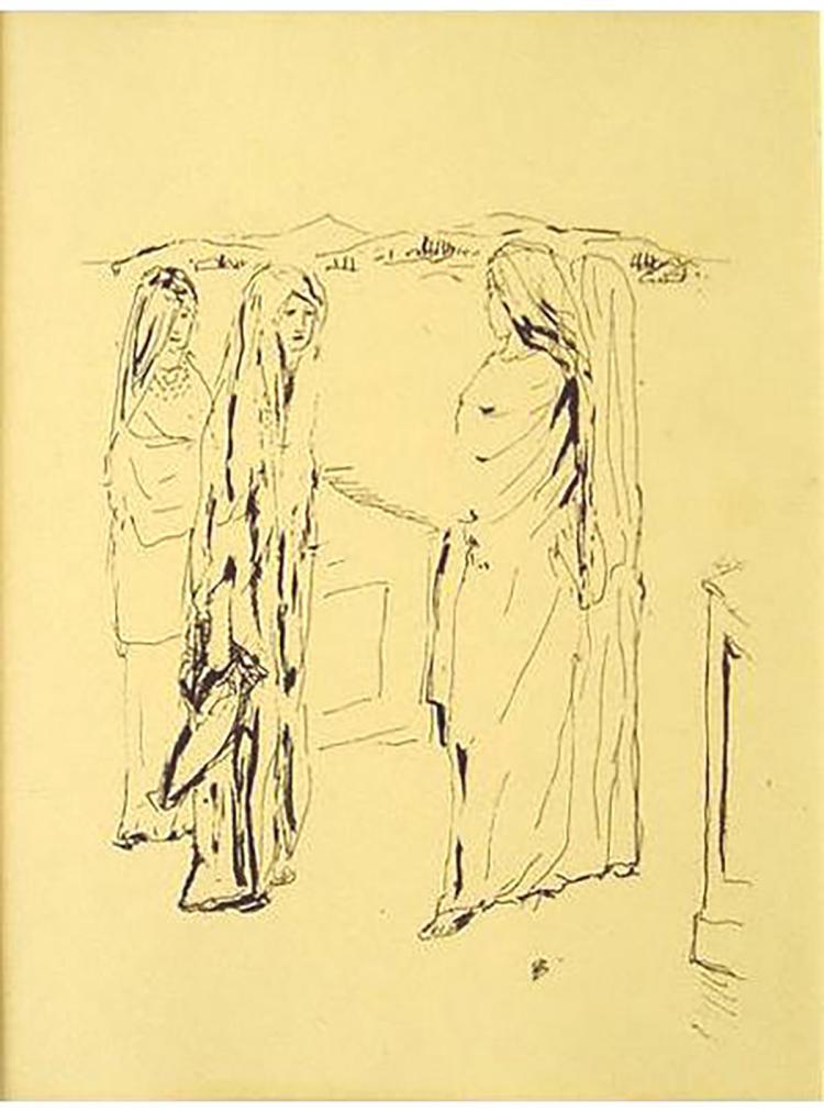 Pierre Bonnard - Monique Et Ses Amies - 1930
