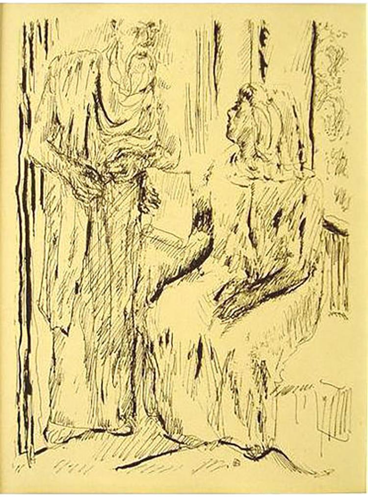 Pierre Bonnard - Monique Fille - 1930
