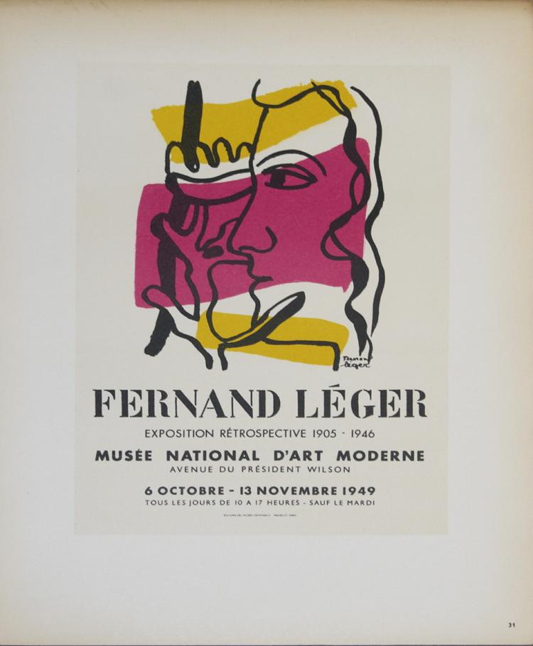 Fernand Leger - Musee National d'Art Moderne - 1959