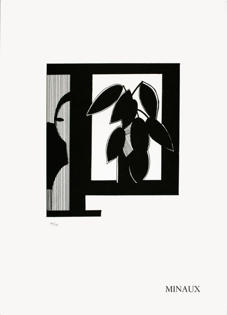 Andre Minaux - Nature Morte - 1970