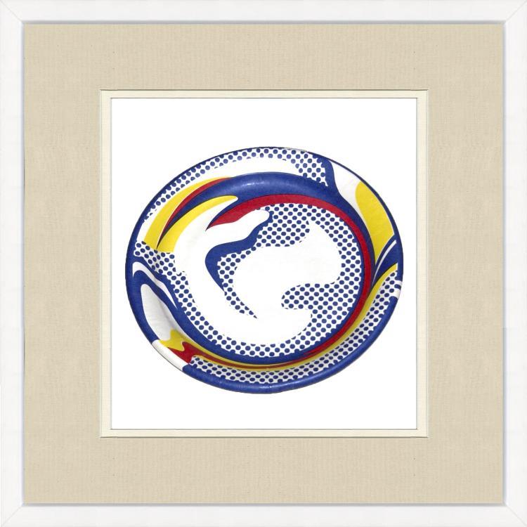 Roy Lichtenstein - Paper Plate - 1969