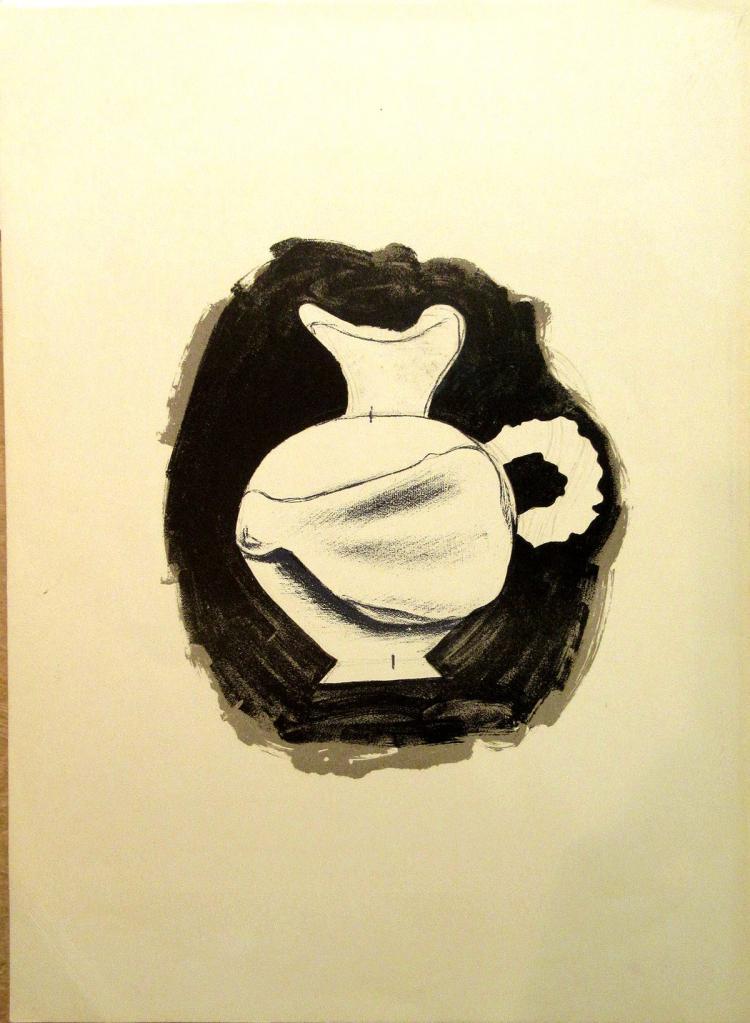 Georges Braque - Pichet Blanc (Dlm115 - 1959