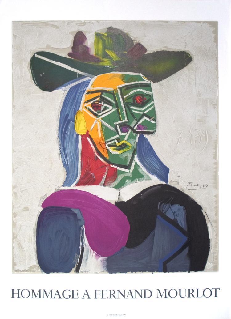 Pablo Picasso - Portrait of Dora Maar - 1993