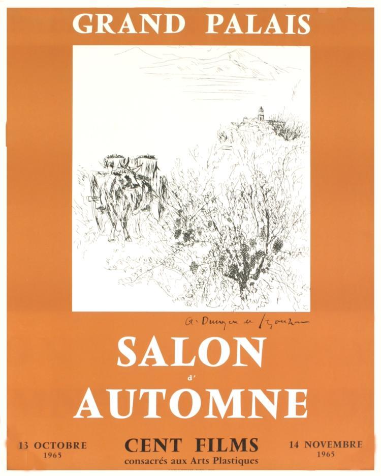 Dunoyer de Segonzac - Salon D'Automne - 1961